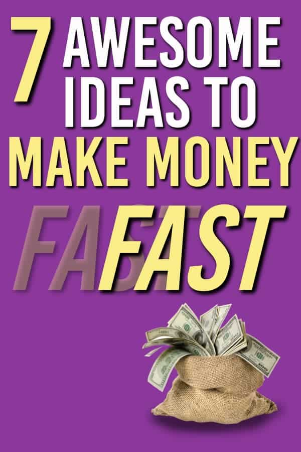 Here are 7 PROVEN ways to make money that you can get started on quickly. | Making Money | Earn extra money |