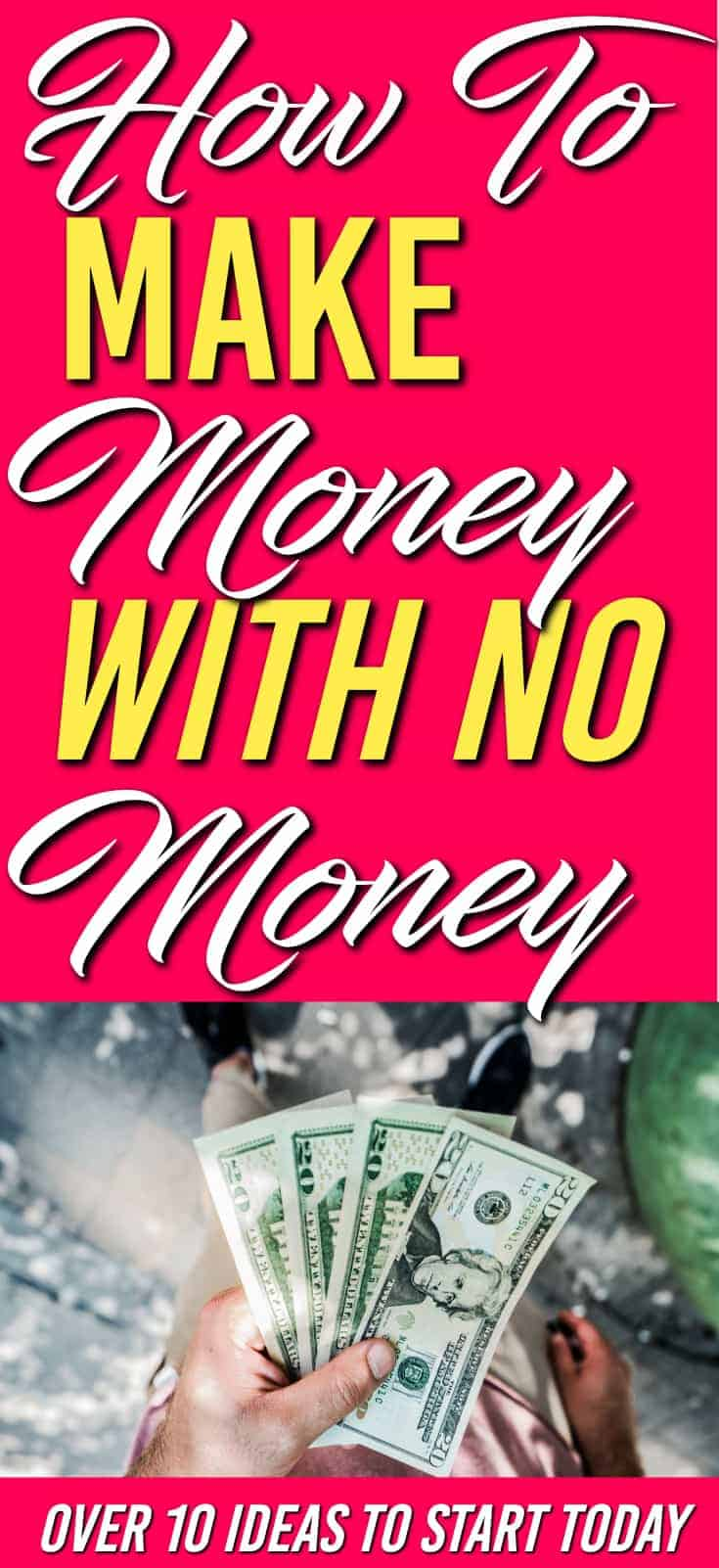 Need ways to make money using what you already have? There 10+ ways show you how to make extra with no money. | Make extra money |