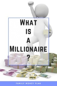 What is a Millionaire? You hear it everyday but do you know what a real millionaire has? Is it just a million dollars, or is it less?
