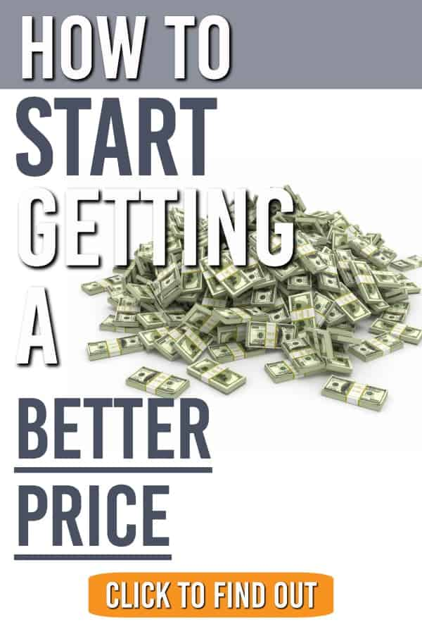 Need a better price on something? Here are the steps we use to start getting a better price when we shop. #shopping #bargaining #negotiating