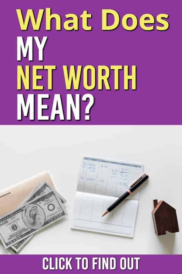 wonder what your net worth means are you on track for what you make