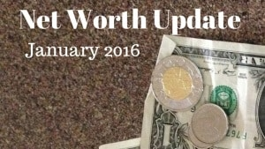 Net Worth Update January 2016