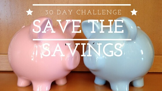 Take the Save the Savings Challenge