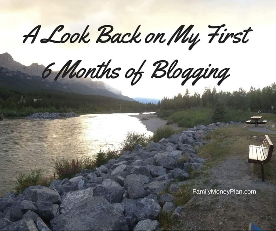 A Look Back on My First 6 Months of Blogging – A Huge Thank You!