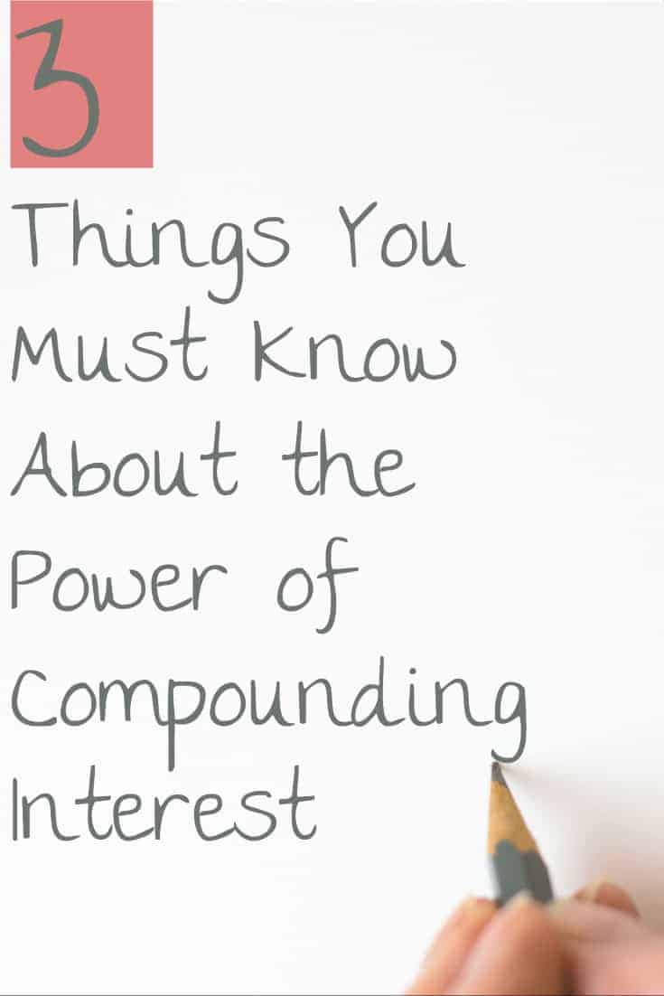 3 Things You Must Know About the Power of Compounding Interest | Investing | Money | Compound interest |