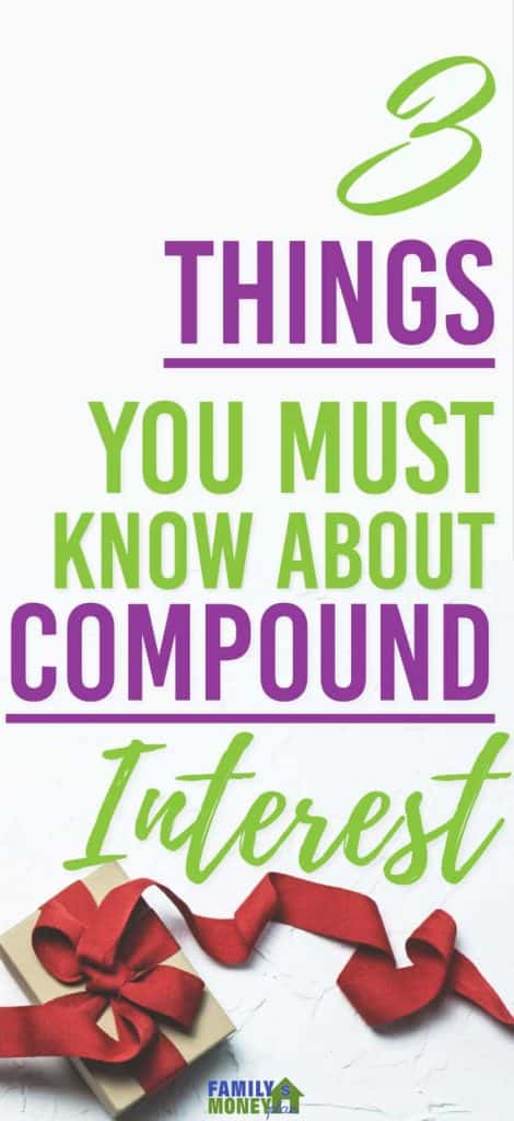 Compound interest is amazing. Here are 3 Things You Must Know About the Power of Compounding Interest | Investing | Money | Compound interest |
