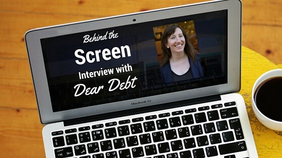 Behind the Screen Interview Series #1 – Melanie of Dear Debt