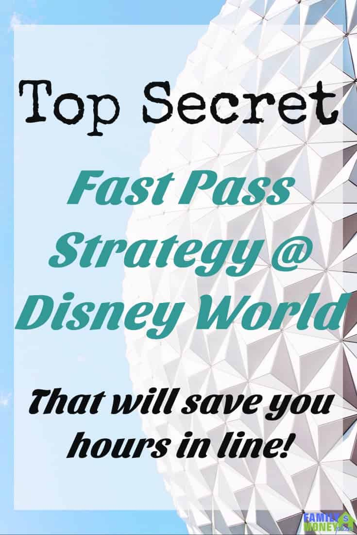 FastPass Make sure you use this Fast Pass strategy when you go to Disney World. It will save you hours in line! |Fast Pass| How to Optimize your Fast Pass | The Best Strategy to Optimize Your Disney
