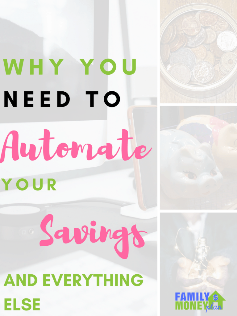 Why you should automate your savings