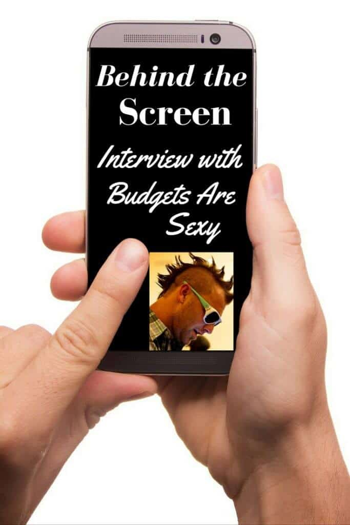 Behind the Screen Interview with Budgets are Sexy. I have one of the all-time blogging greats today. I wish I could remember when I first stumbled across J Money site Budgets Are Sexy