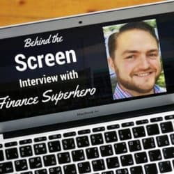 Behind the Screen Interview with Finance Superhero