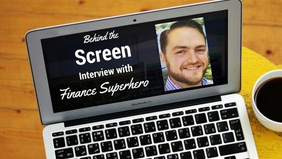 Behind the Screen Interview Series David from Finance Superhero