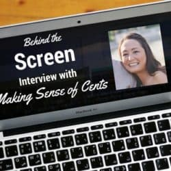 Behind the Screen Interview with Making Sense of Cents