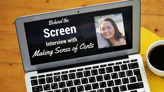 Behind the Screen Interview with Michelle from Making Sense of Cents