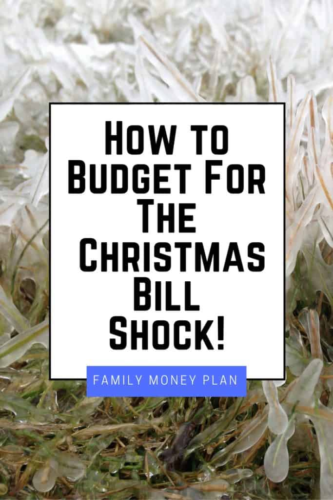 How to Budget For The Christmas Bill Shock!