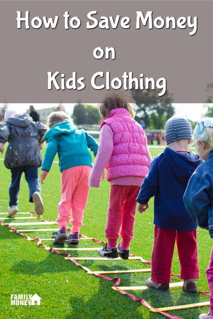 Looking for some easy ways to save on kids clothing? Here's 7 ways you can cut your kids clothing costs today. | Saving Money | How to save money on kids clothing |