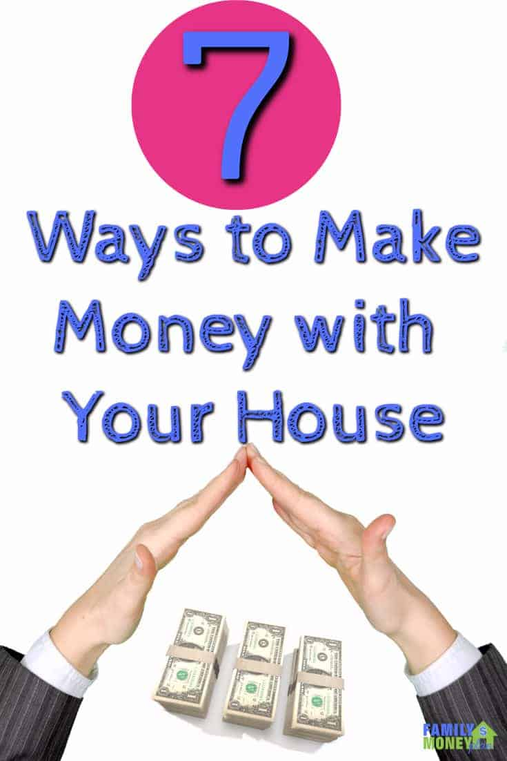 Your house is your biggest asset, here are some ways for it to start paying you some extra money | Making Money | Home income ideas |
