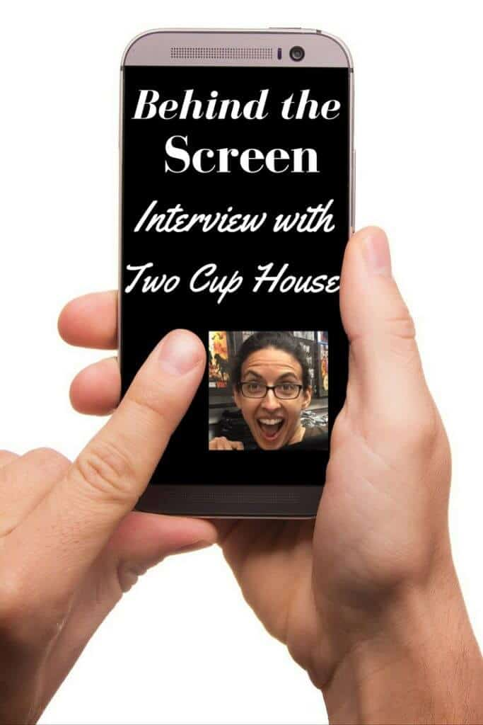 Behind the Screen Interview with Two Cup House I have another first for you this week. 2 for the price of 1! We are getting to glimpse behind the screen of our first couple Claudia and Garrett of Two Cup House.