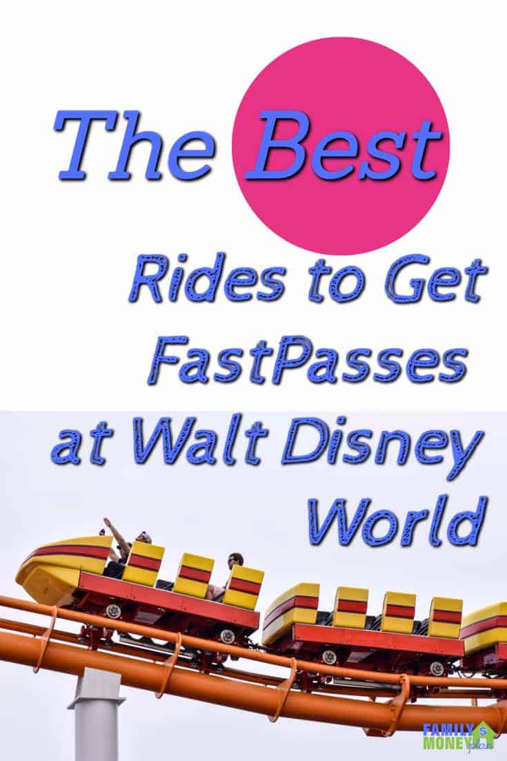 The best rides to get your fast passes for early at Walt Disney World | WDW | Fast Passes | Walt Disney World | Rides |