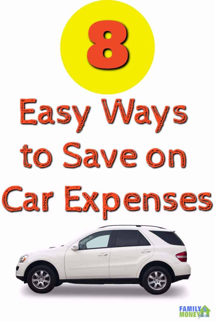 Looking for ways to save money on your car expenses? Here's 8 simple ways you can cut car expenses today. | Car Expenses | Save money on your car |