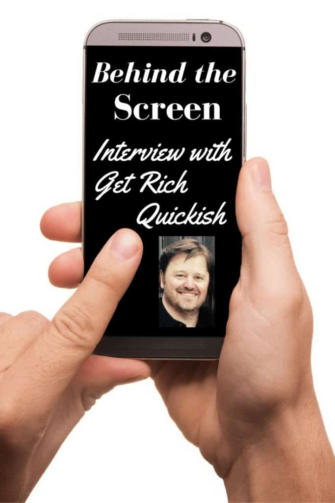 behind the screen interview with get rich quickish