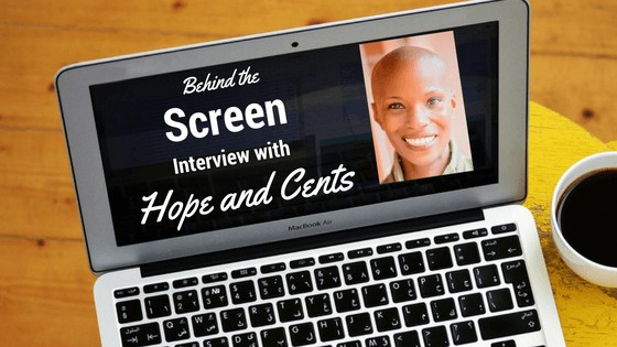 Behind the Screen Interview with Alaya from Hope and Cents