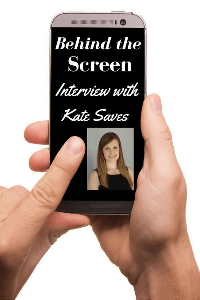 Behind the Screen Interview with Kate from Kate Saves