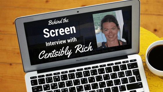 Behind the Screen Interview with Amanda from Centsibly Rich