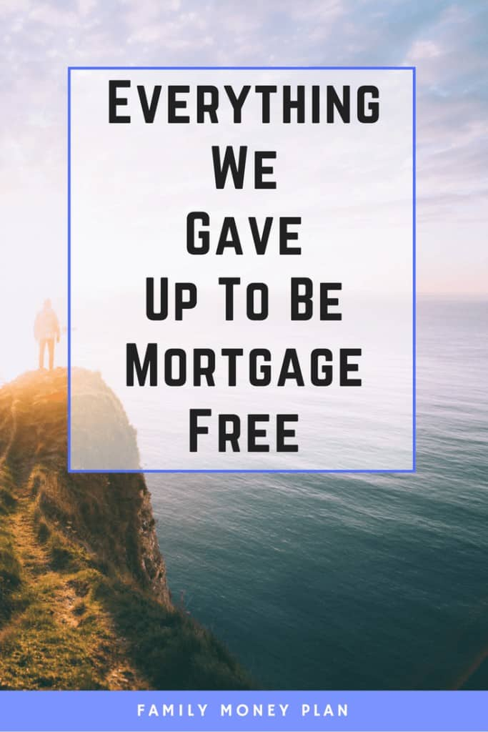 Things you can give up to be mortgage free | Money saving Ideas| Mortgage Freedom | Cut Expenses | Save Money |