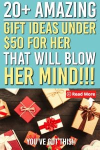 Gifts ideas for Her Under $50