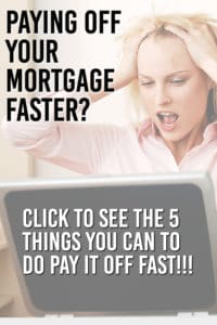 pay off mortgage in 5 years