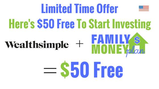 Wealthsimple $50 Sign up Bonus