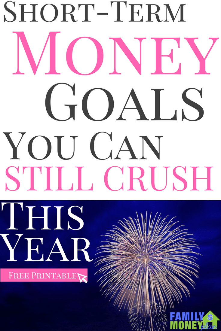Need some short-term money goals you can accomplish this year. Check out this great list of quick goals you can achieve to get going on your money journey | Making Money |Money Goals | Financial Goals |