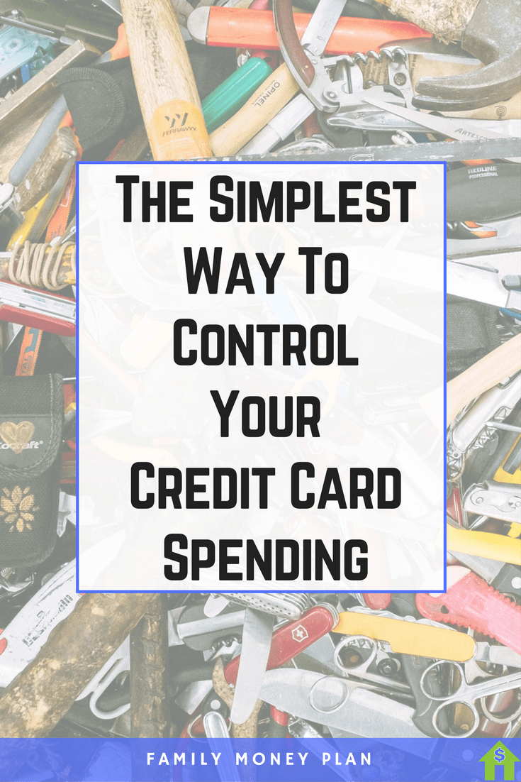 The Simplest Way To Control Your Credit Card Spending