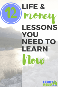 This is great 12 lessons we should all learn about life and money. Including finding your own meaning of happiness