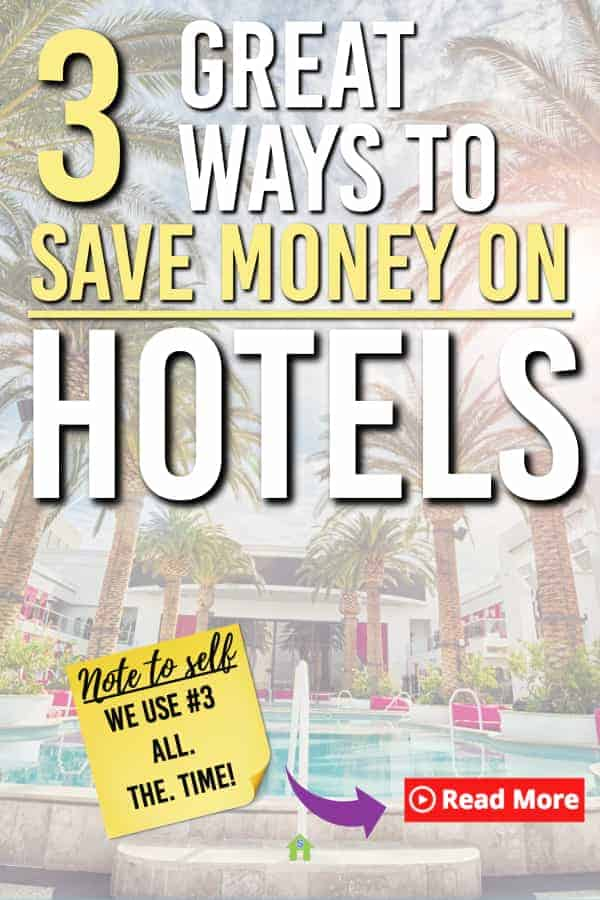 ways to save on hotels