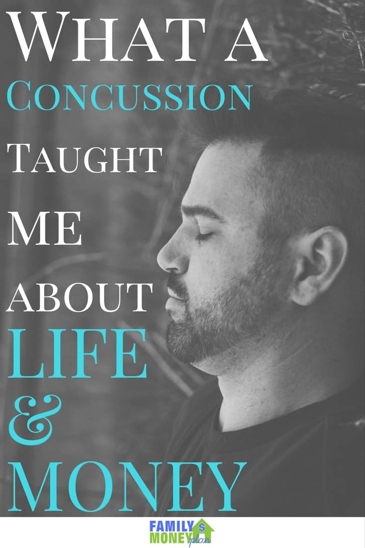 12 Life lessons that I learned from a difficult time recovering from a concussion.