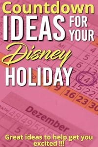 Are you wanting to stir up some excitement for your trip to Disney World ? Here are some great Disney world countdown ideas to help get you ready for the BIG trip!!!