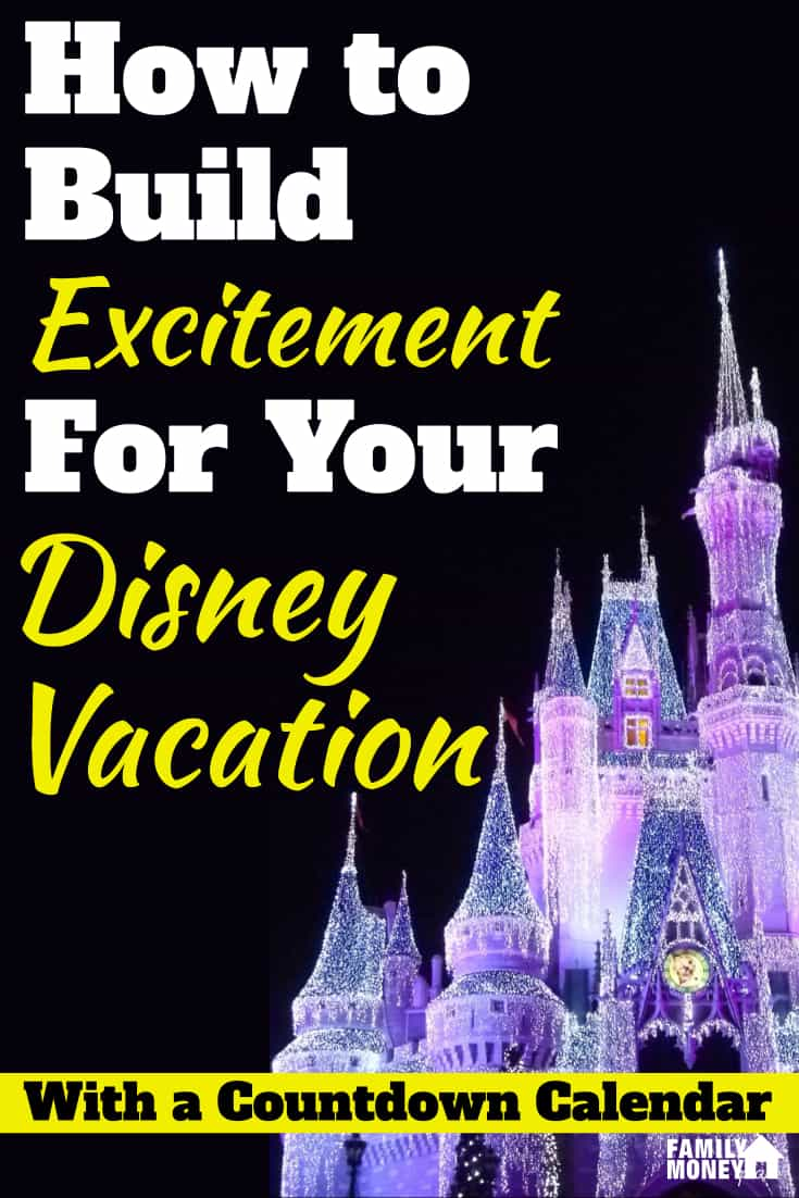 Build excitement for months with a Disney Countdown calendar | Disney World | Calendar | Kids |Travel