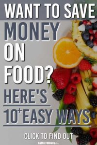 ways to save money on groceries