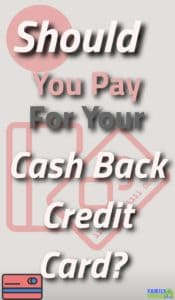 Is paying for a credit card a smart thing to do? The answer may surprise you. |Credti Card | cash back credit cards |