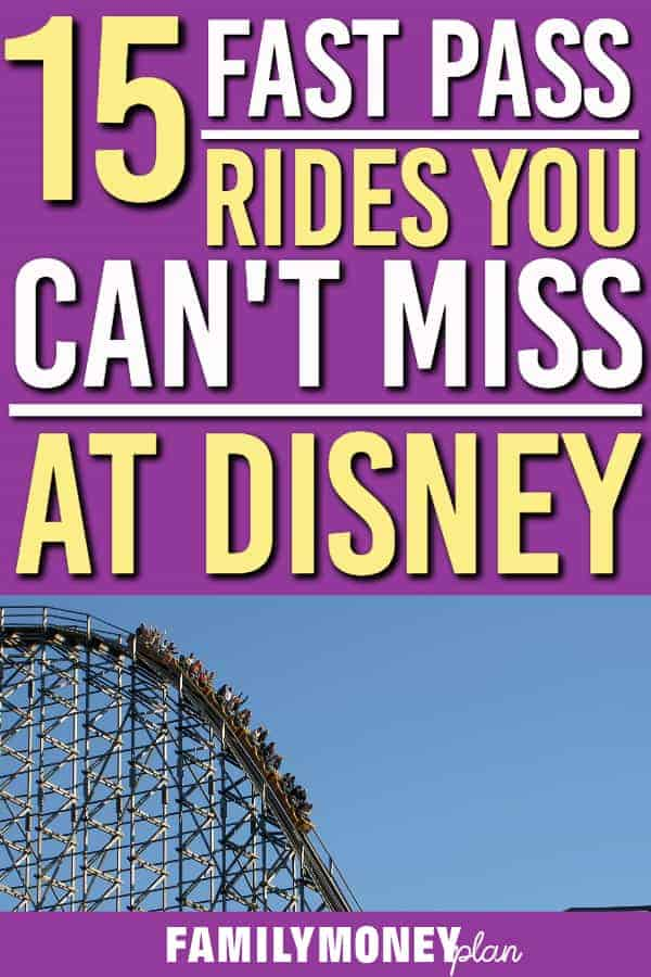 There are so many rides at Walt Disney World. Here are the top 15 rides that you should get Fast Passes so you can save time in the line ups. | Fast Pass |WDW |Walt Disney World | Rides | trip to disney world | Disney world vacation | plan Disney world trip | first Disney trip | Disney world trip | Disney rides | Walt Disney world rides | best Disney rides | best rides at Disney world | Disney Orlando | Disney world Orlando