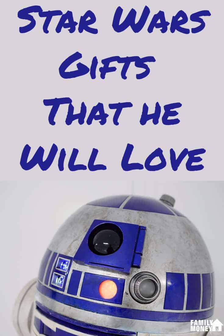 Got a Star Wars geek in your life? Looking Star Wars gift ideas for him? Here are 50+ fun Starwars gift ideas for him. no matter what size your budget is | Star Wars | Gift Ideas for Him | #geek #starwars #giftsforhim #giftideas #forhim