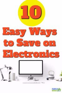 Electronic costs are nuts here's 9 easy ways to save money on your electronics like iPhones and Tablets | Save money on electronics | Saving money online | Easy ways to save money | Free ways to save money |