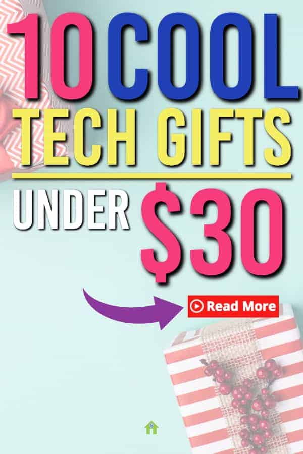 These awesome electronics tech giftsofor men are perfect for your tech guy. These Gifts are all under $30 and are sure to impress #tech #giftideas #gifts #giftguide #giftsforhim #giftsformen