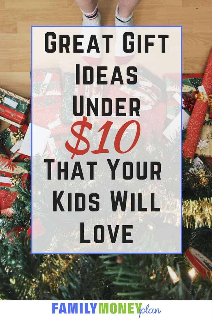 Need some gifts for kids that won't break the bank, here are 10 gifts under $10 that kids will love. | Gifts | Gift ideas |Children
