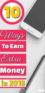 TOP 10+ WAYS TO EARN EXTRA MONEY ONLINE IN 2018 | Make extra money | Earn more Money | Online money making ideas |