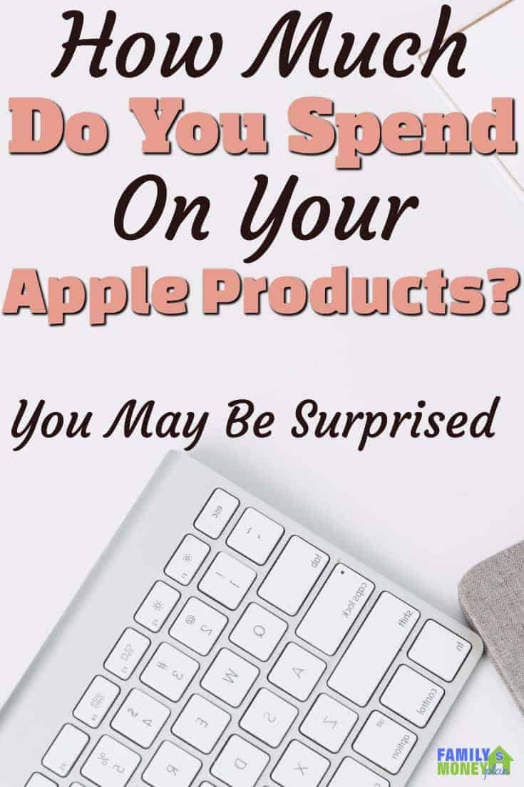 We all love our Apple Products. When we break down the amounts into a daily value,  it's pretty surprising how much we spend on our Apple gear on a daily basis.