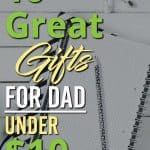 Needs some gifts for dad? Here's over 10 gifts for dad under $10 that he will love on Father's Day | Gifts for Dad |Gifts for him |ideas fathers day | ideas for fathers day | fathers day gifts | fathers day gift ideas | gift fathers day | perfect fathers day gift | gift ideas fathers day | clever fathers day gifts | gifts for fathers day