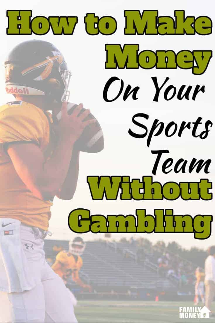You can make money off your sports team without knowing anything about sports | Making Money | Sports | Earn Extra Money